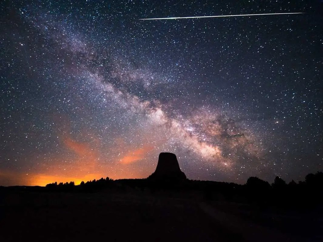 The Geminid meteor shower will be visible tonight  here