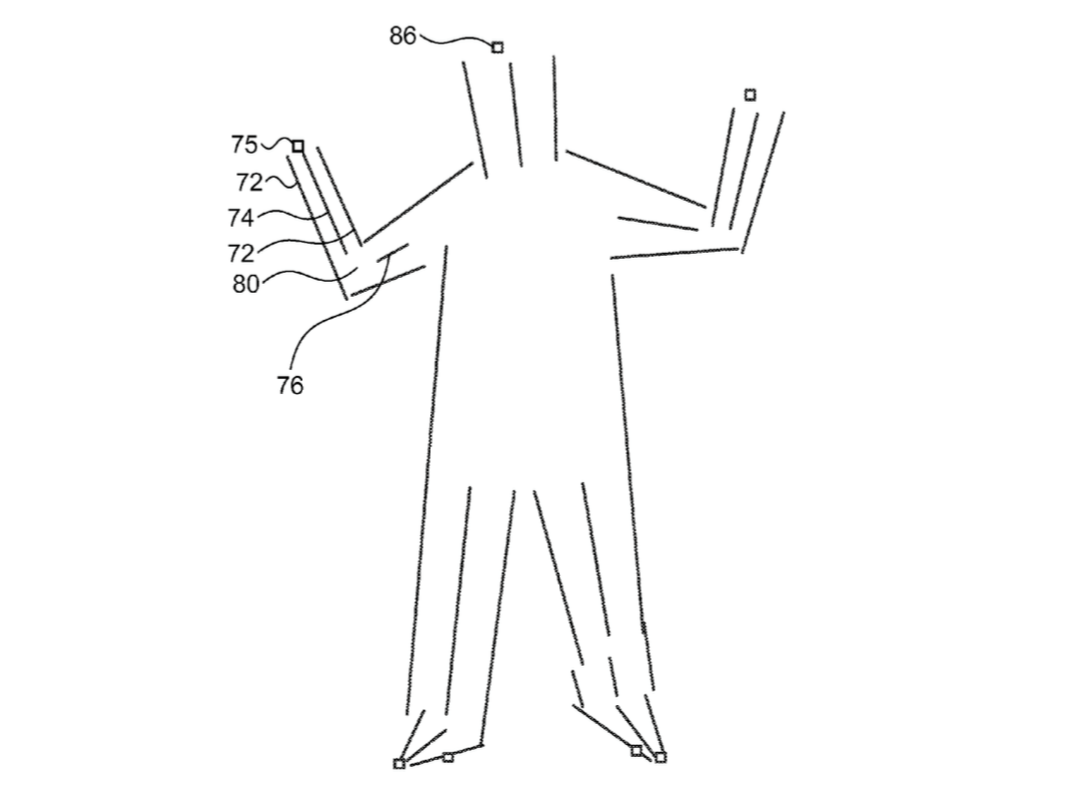 Apple has patented a way to track your digital 'skeleton