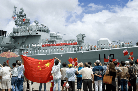 china navy destroyer pearl harbor