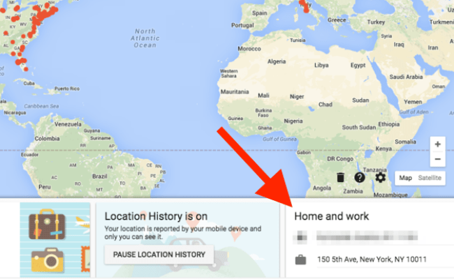 Google Can Show You Everywhere You Ve Been On A Map That S