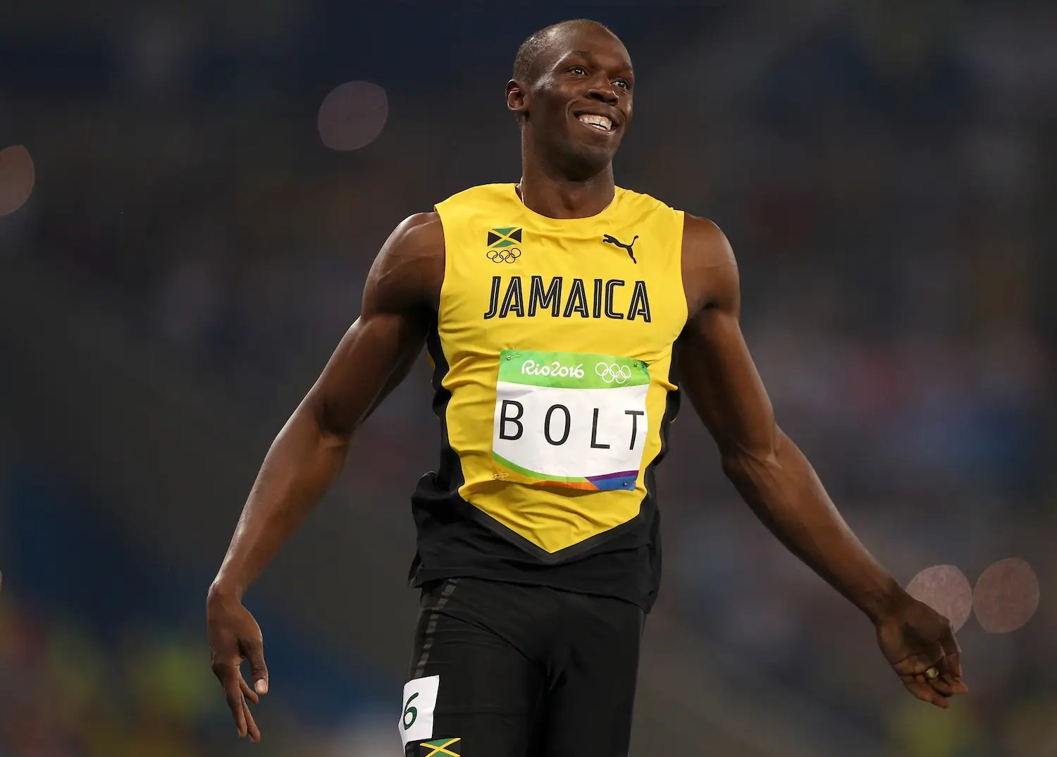 Usain Bolt wins 100m becomes first sprinter to win the