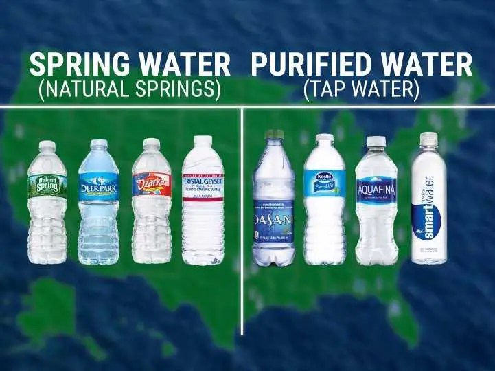 Animated map shows where your bottled water actually comes ...