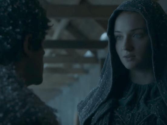 35. Sansa Stark and Ramsay Bolton