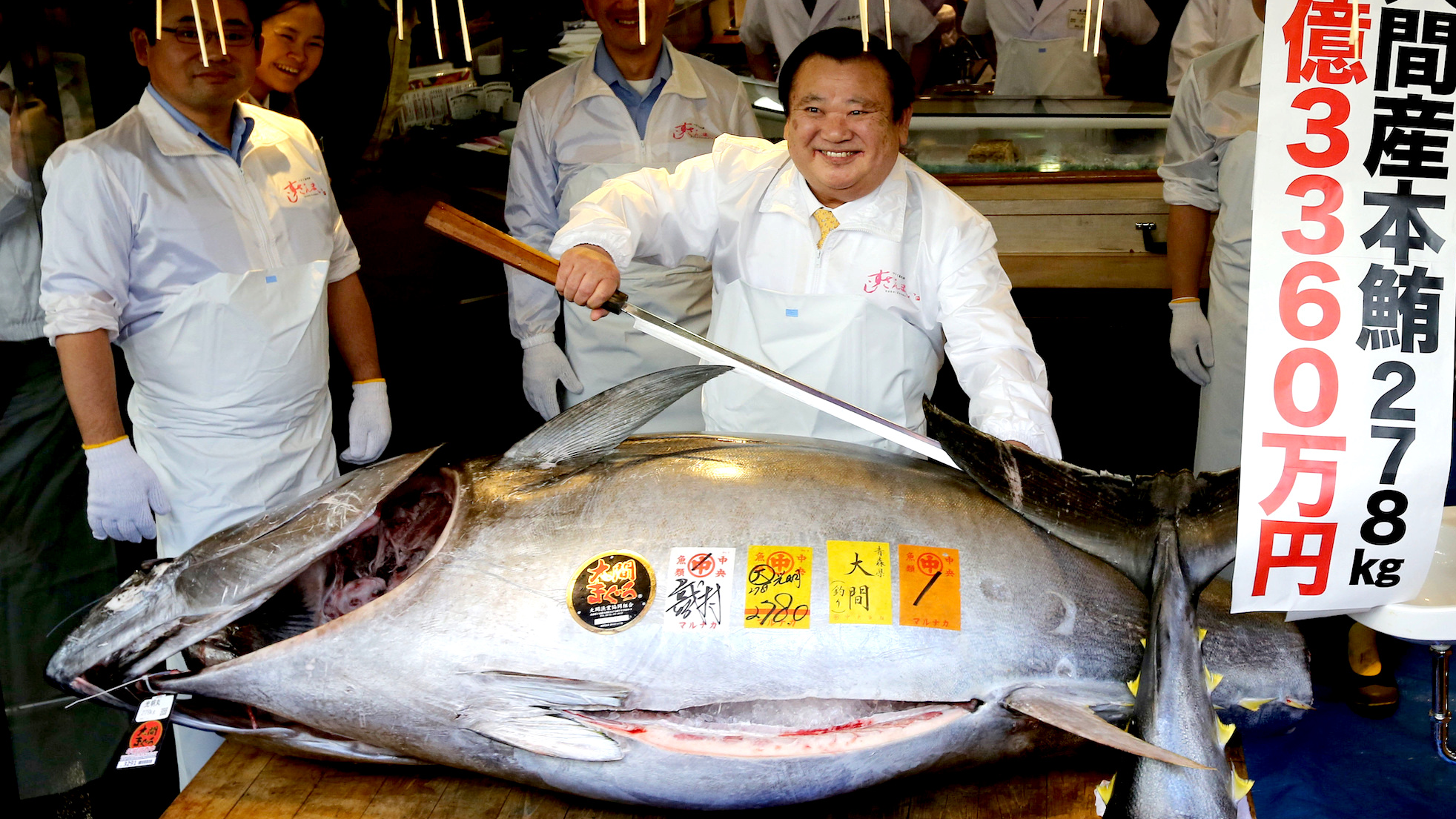 hight resolution of a fish in japan just sold for a record 3 million here s why bluefin tuna is so expensive