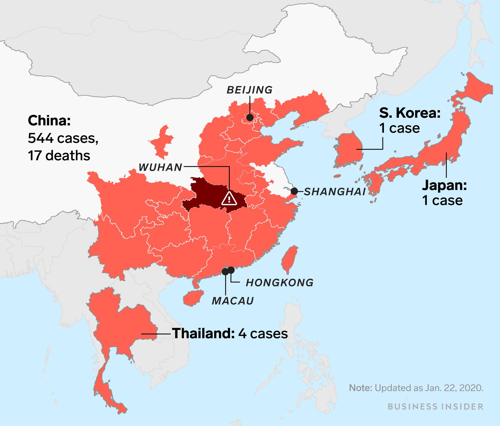 Here Are The Symptoms Of The Wuhan Coronavirus According