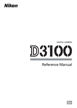 Nikon D3100 Manual & Helpful Resources