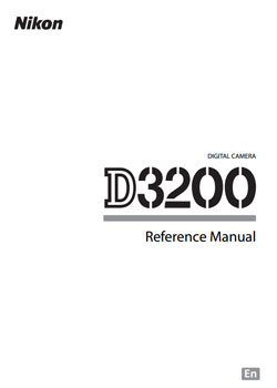 Nikon D3200 Manual & Helpful Resources