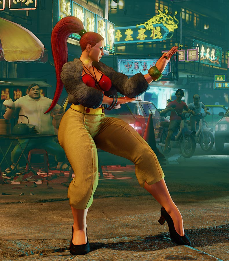 Street Fighter 5 Season 2 Changes Chun Li Psycho Powah