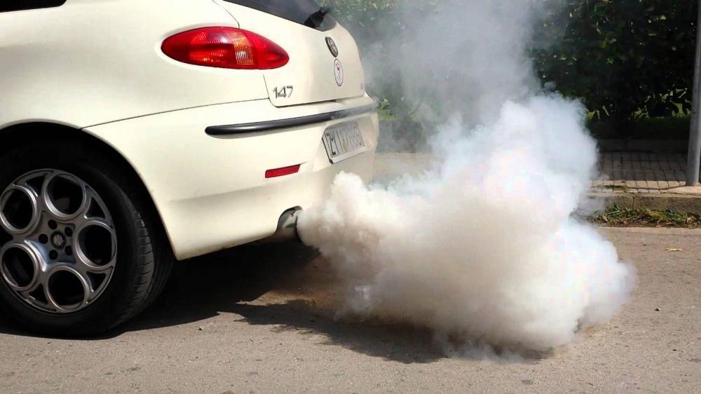 medium resolution of white smoke from exhaust