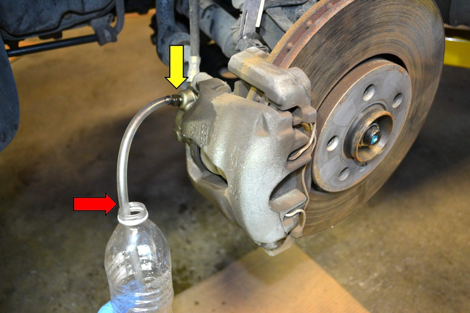 hight resolution of how to bleed brakes