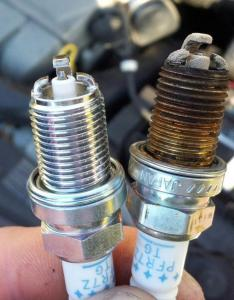 Spark plug color also understand how to read the car from japan rh carfromjapan