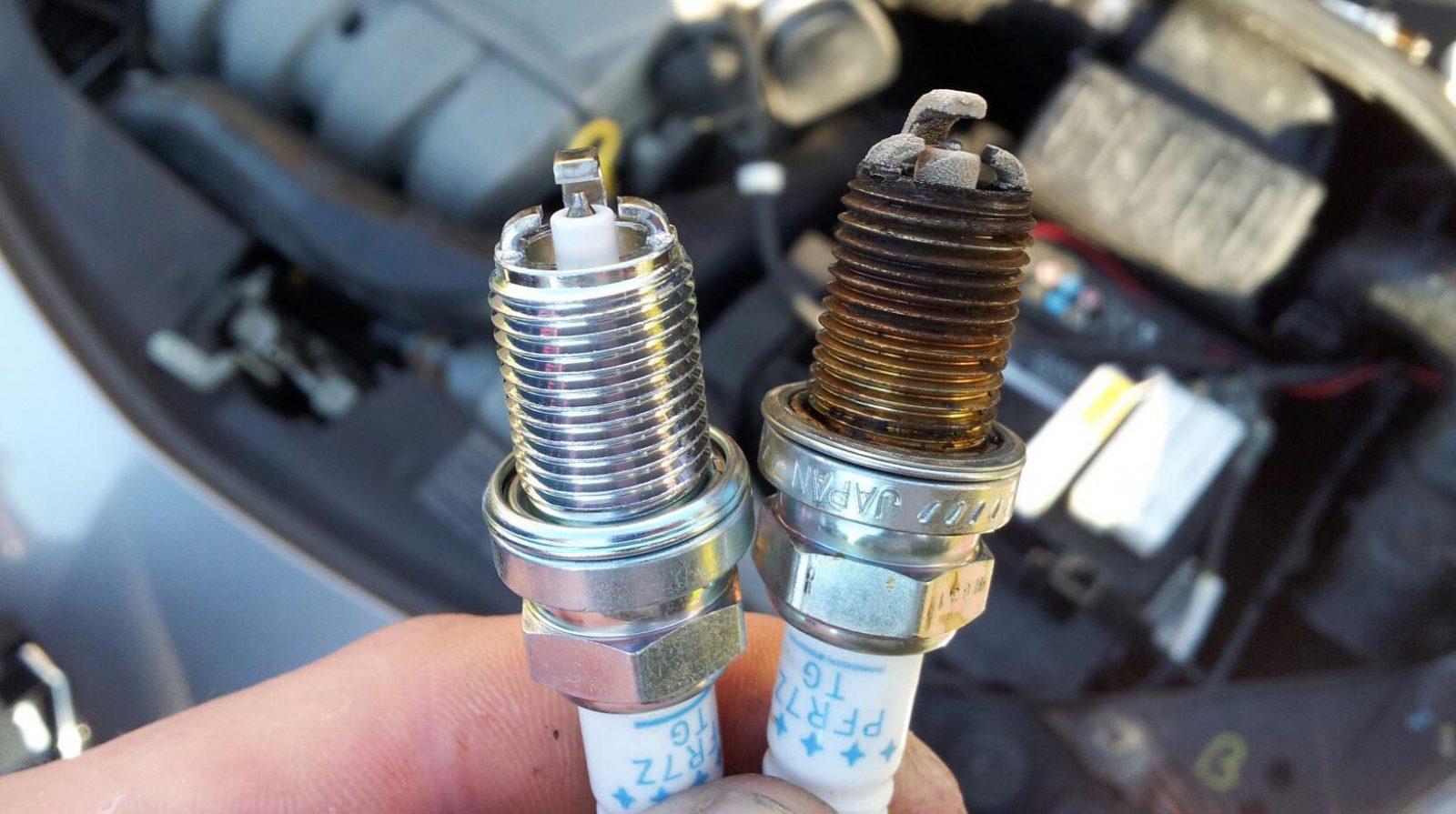 hight resolution of spark plug color