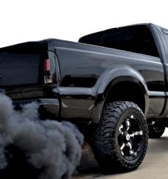 running black smoke from exhaust [ 1600 x 909 Pixel ]