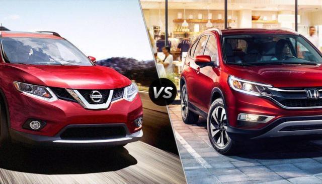 Rogue Vs Crv >> Nissan Rogue Vs Honda Crv A Complete Comparison Daily Cast
