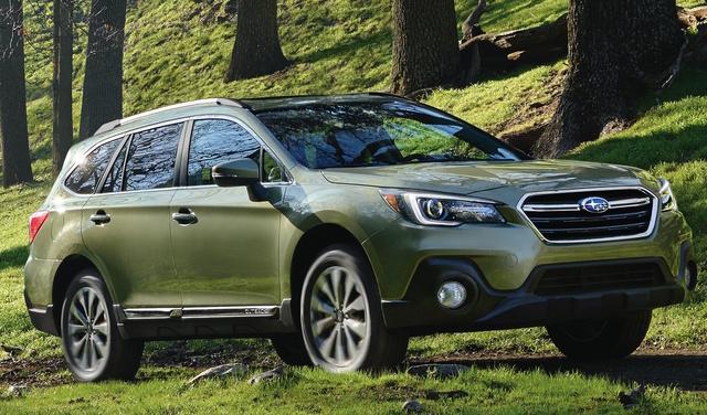 2018 Subaru Outback Overview CarGurus