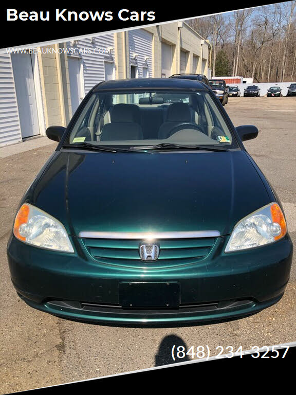 2002 Honda Civic Green : honda, civic, green, Honda, Civic, Right, CarGurus