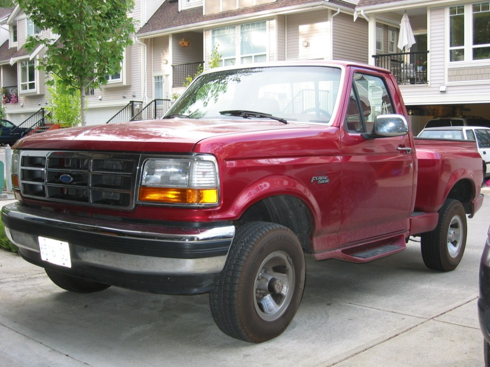 medium resolution of 1992 ford f 150 overview