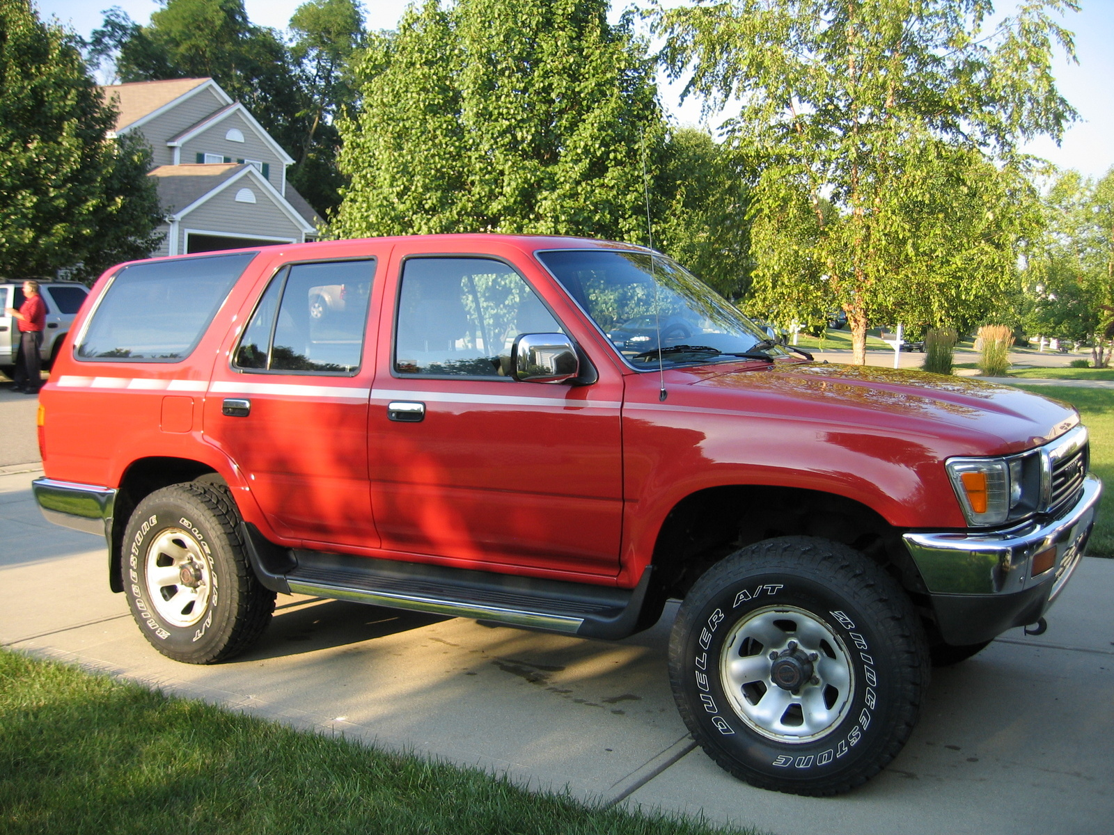 hight resolution of 1991 toyota 4runner overview
