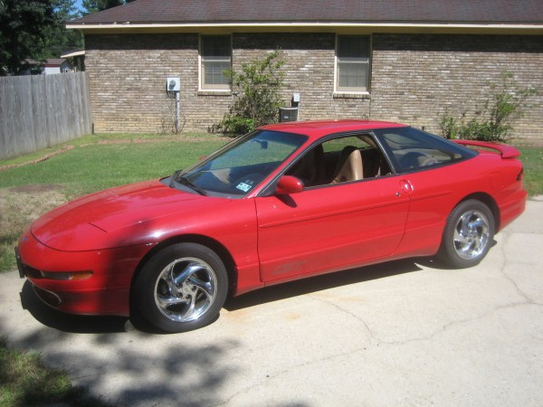 96 ford probe red