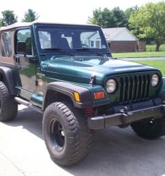 picture of 2000 jeep wrangler sahara exterior gallery worthy [ 1600 x 1200 Pixel ]