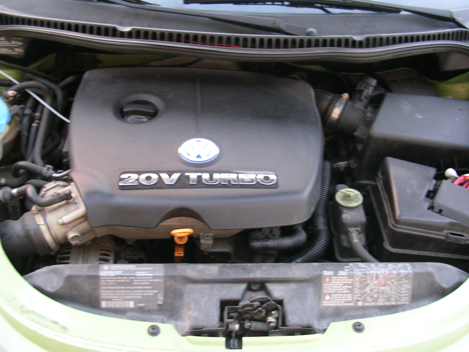 hight resolution of 1999 volkswagen beetle 2 dr gls 1 8t turbo hatchback picture engine