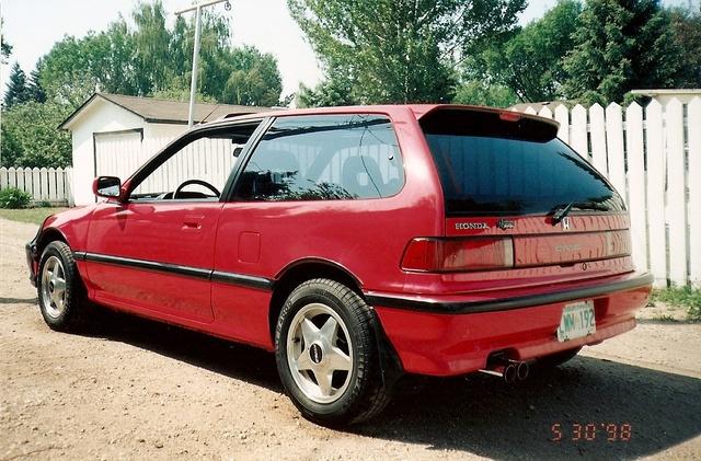 1992 Honda Prelude Street