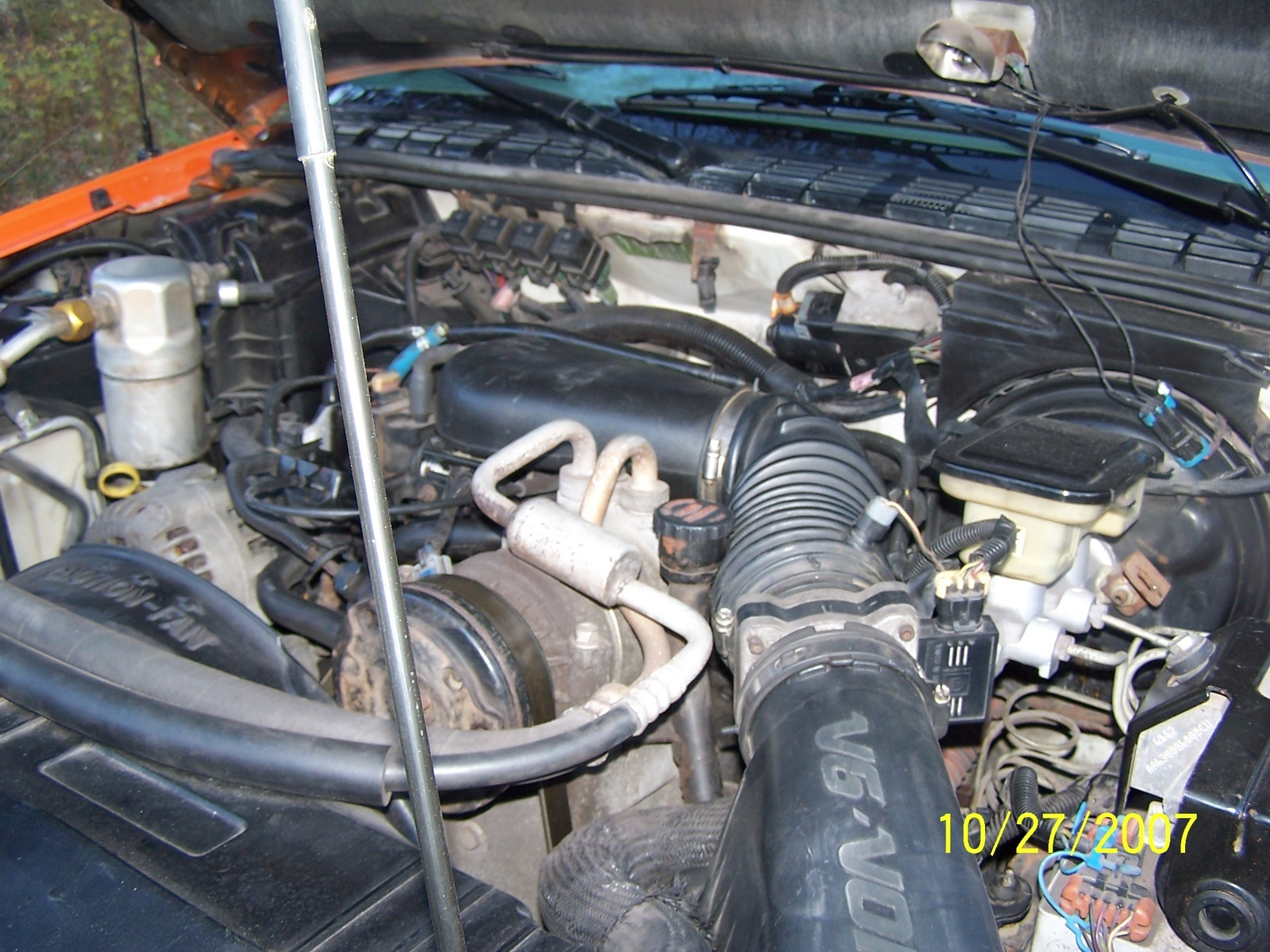 hight resolution of chevrolet s 10 questions shaking an rough idol cargurus 2000 chevy blazer vacuum line diagram 1997