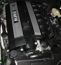 98 328i engine cover nut caps  [ 1600 x 1200 Pixel ]