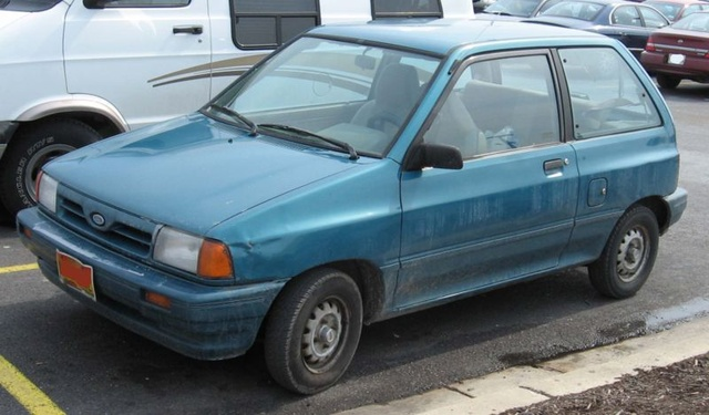 1986 ford festiva pictures