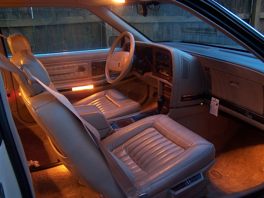 Picture Of 1991 Buick Riviera Coupe Interior