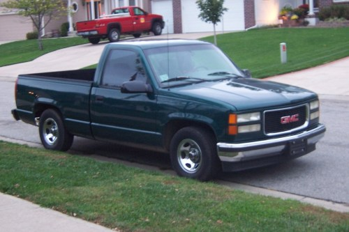 small resolution of cars compared to 1996 gmc sierra c k 1500