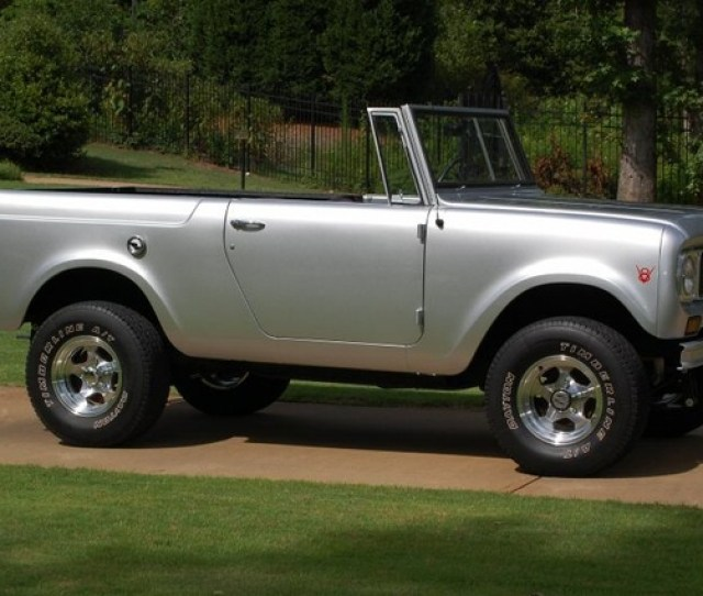 1969 International Harvester Scout Pictures