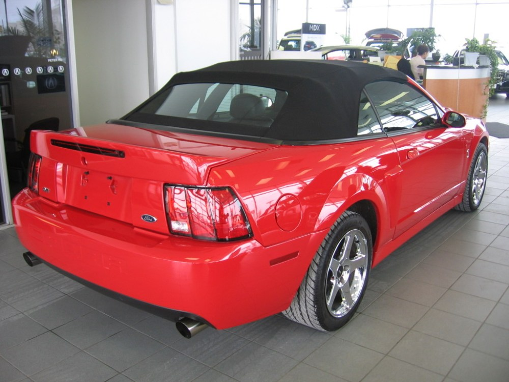 medium resolution of what kind of rear suspension does a 2003 2004 svt cobra have