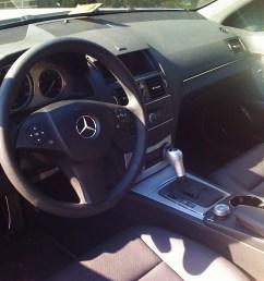 2008 mercedes benz c class c300 sport picture interior [ 1600 x 1200 Pixel ]