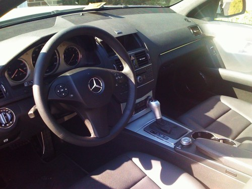 small resolution of 2008 mercedes benz c class c300 sport picture interior