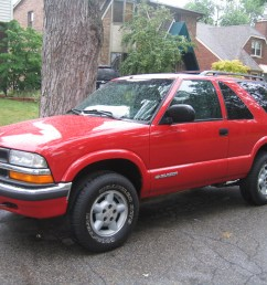 picture of 2000 chevrolet blazer ls 2 door 4wd exterior gallery worthy [ 1600 x 1200 Pixel ]