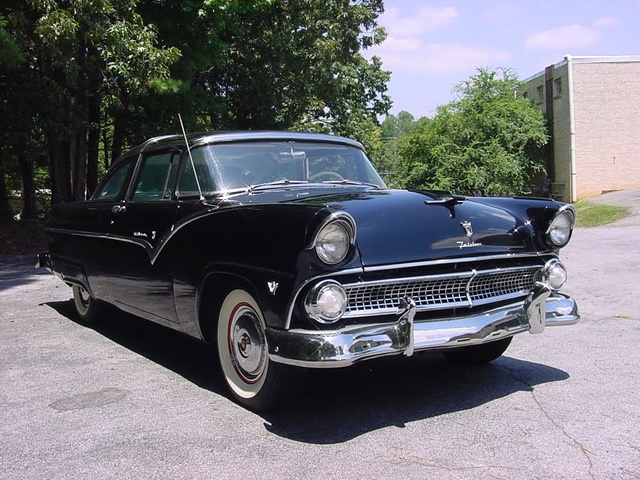 1955 Ford Crown Victoria Side Molding