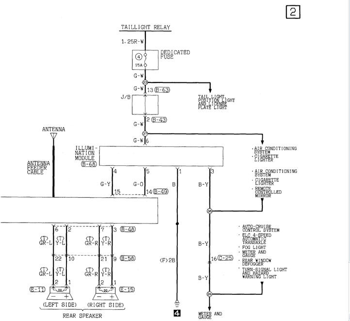 2002 chrysler sebring radio wiring diagram farmall h generator questions - the stock back into a 2000 conv ...