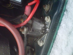 Lincoln Continental Questions  photo 1992 lincoln continental starter solenoid wiring  CarGurus