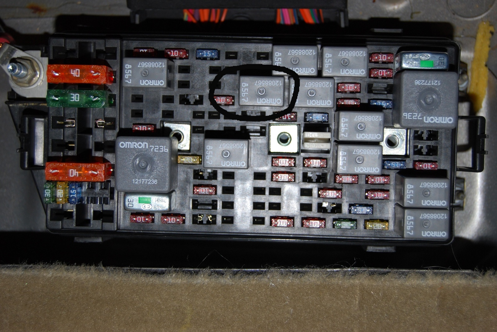 hight resolution of 2000 buick lesabre fuse box location