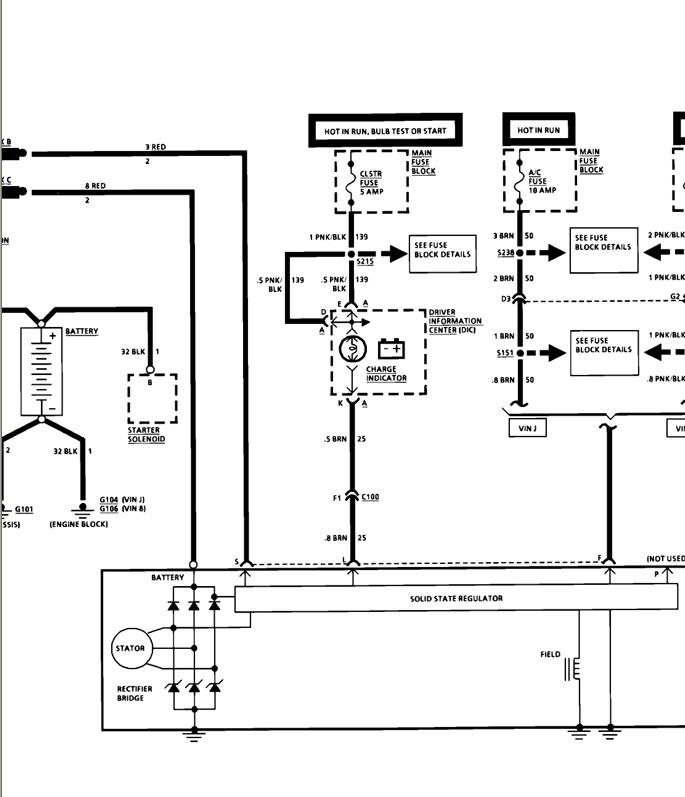 Corvette Alternator Wiring Diagram, Corvette, Free Engine