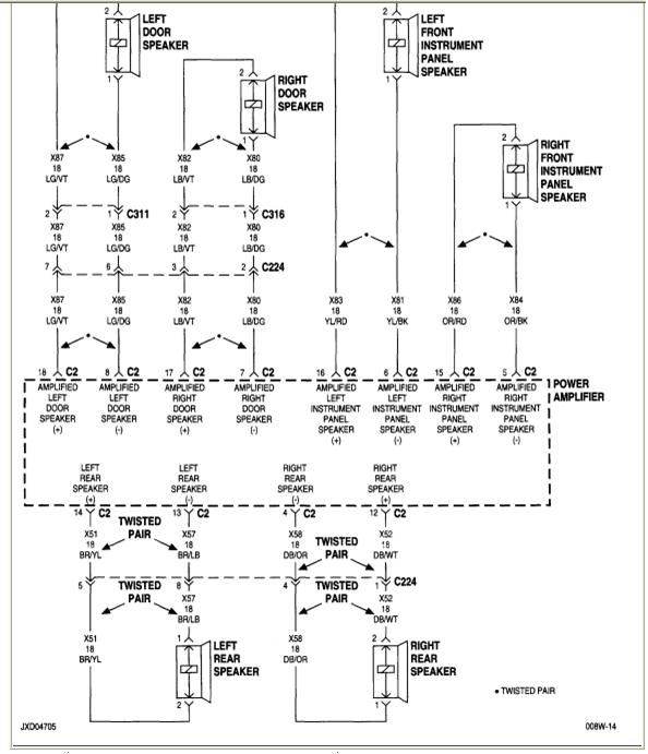 2000 Chrysler Sebring Radio Wiring Diagram Pictures to Pin