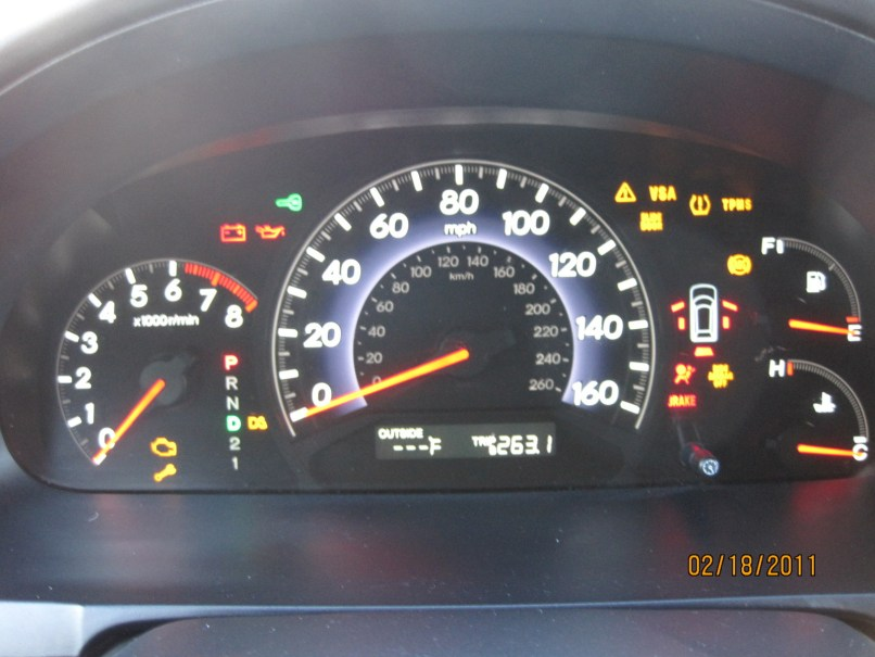 Honda Crv Warning Lights Vsa Www Lightneasy Net