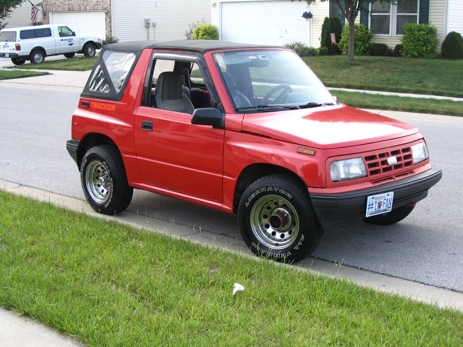 hight resolution of how well would you rate a 91 geo tracker