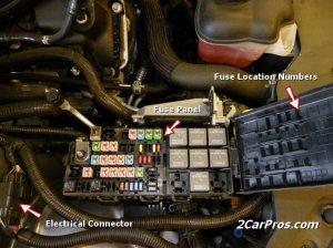 2007 Dodge Caliber Starter Relay Location  Wiring Diagram