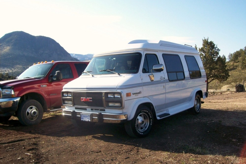 medium resolution of gmc yukon questions i want to improve gas mileage on a 95 gmc 350 5 7 vandura starcraft co cargurus