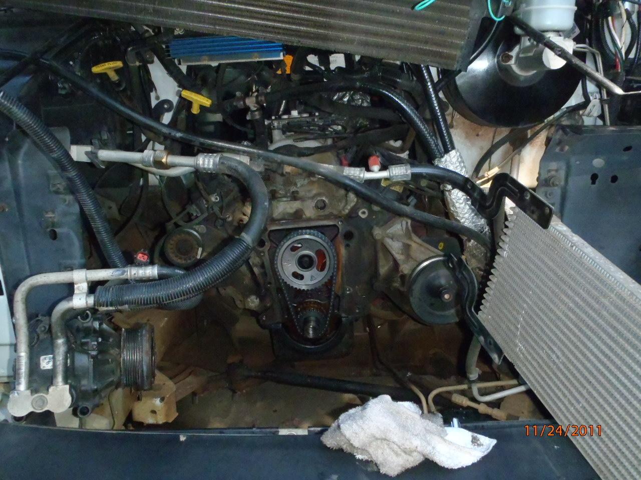 hight resolution of how to repair a 1992 dodge ram 250 van water pump 318 motor