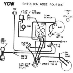 1987 Toyota Pickup Vacuum Line Diagram Active And Passive Transport Venn Chevrolet El Camino Questions Lines Cargurus They Have All The Diagrams In Them I Did Locate 2 Of More Popular Ones Attached Pics Hopefully These Help