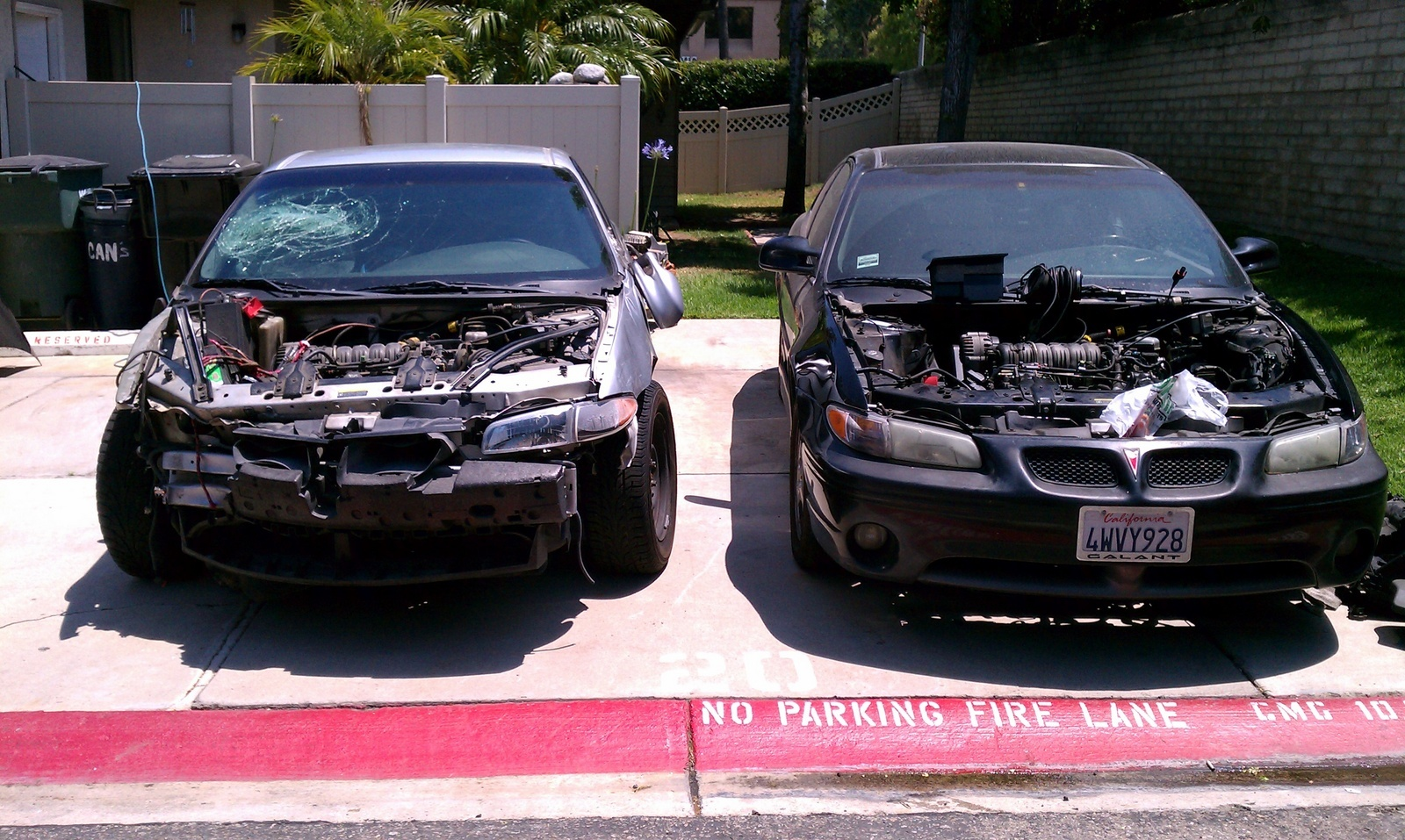 hight resolution of swapped 2003 pontiac grand prix gt engine into 2002 and it wont turn over