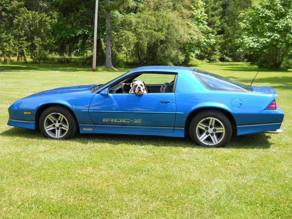 medium resolution of chevrolet camaro questions how much is a 1985 iroc z worth with 110 miles on it cargurus
